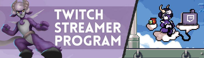Rivals of Aether Streamer Program