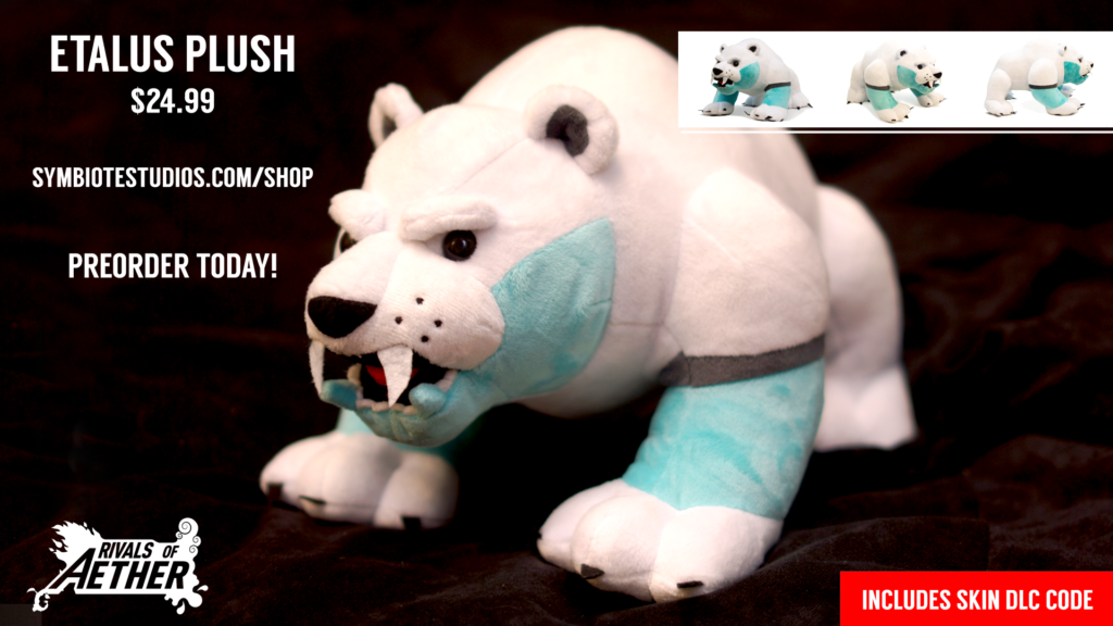 Etalus Plush Preorder Announcement